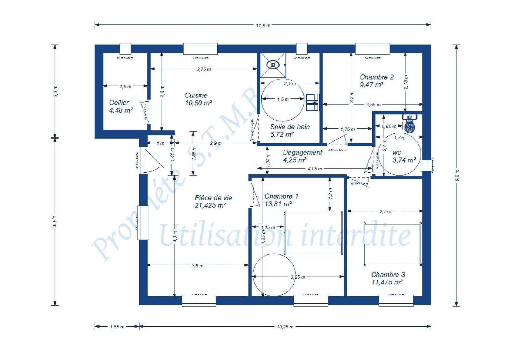 Excellent With Realiser Plan De Maison With Exemple Plan Maison Moderne